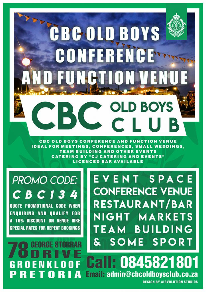 Converence and events venue groenkloof