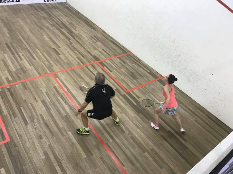 Bronwen Martin at cbc squash
