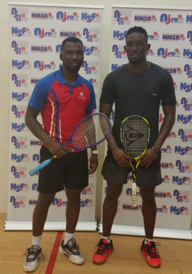 Kundanji Kalengo and Kelvin Ndhlovu mens finalist