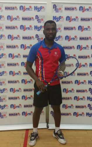 Kelvin Ndhlovu PSA Winner Northerns Open